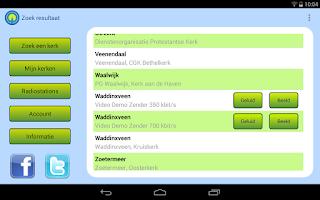 Screenshot of Kerkomroep