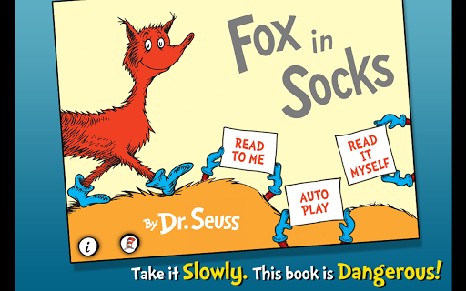 玩書籍App|Fox in Socks - Dr. Seuss免費|APP試玩
