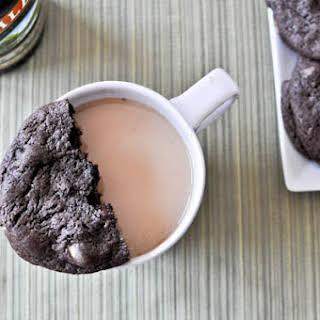 Double Fudge Irish Cream Cookies.