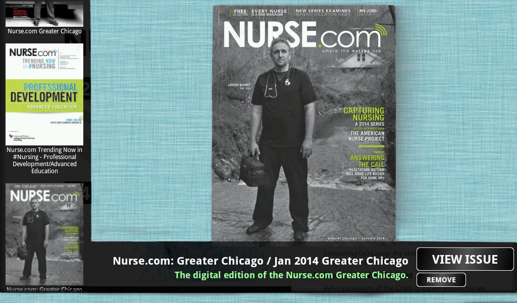 Nurse.com Unbound - screenshot