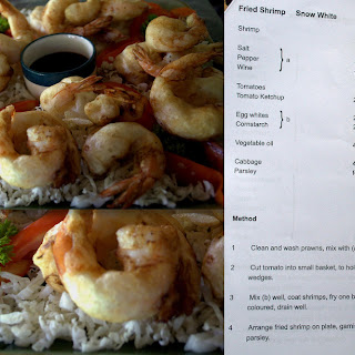 Fried Shrimp Snow White