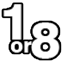 1 or 8 -ICHI KA BACHI KA- logo
