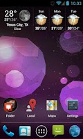 Screenshot of Jelly Bean Apex / Nova Theme