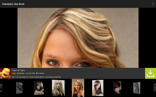 Hairstyles Idea Book - screenshot thumbnail