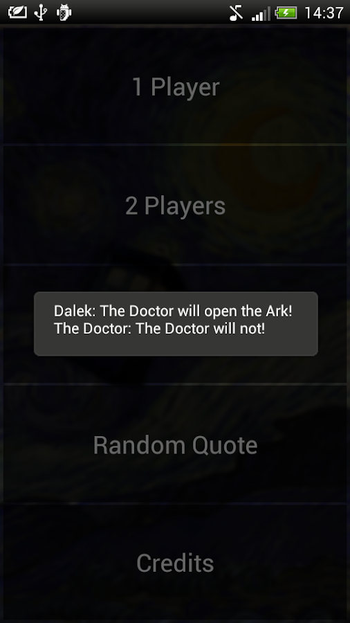 Doctor Who Quiz - Fantastic!- screenshot