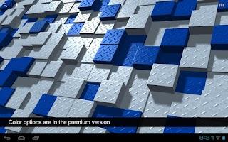 Screenshot of Digital Flux Free LWP
