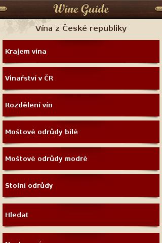 Wine Guide - screenshot