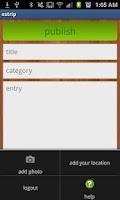 Screenshot of estrip.org blog publisher