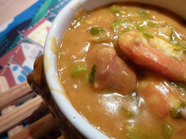 Shrimp and Chorizo Gumbo