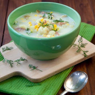 Wintery Summer Soup