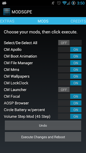 Mods GPE HTC One