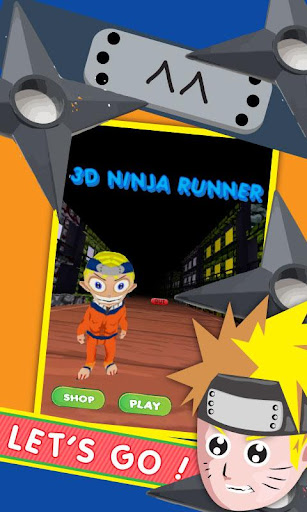 3D Ninja Runner Samurai Weapon