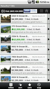 Myrtle Beach Real Estate - screenshot thumbnail