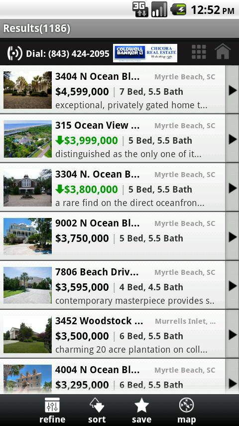 Myrtle Beach Real Estate - screenshot