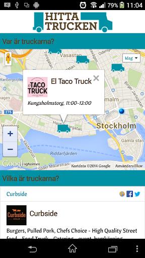 【免費生活App】Hitta Trucken-APP點子