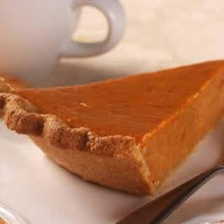 Whole-Grain Pie Crust with LIBBY'S® Famous Pumpkin Pie Filling.