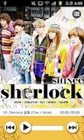 Screenshot of SHINee 'sherlock'