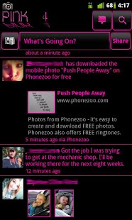 Pink 4 Facebook - screenshot thumbnail