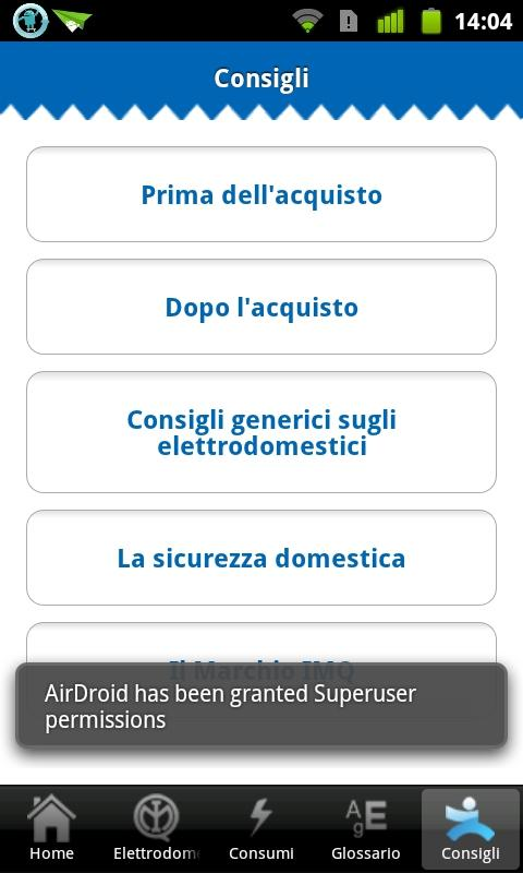 Elettrodomestici- screenshot
