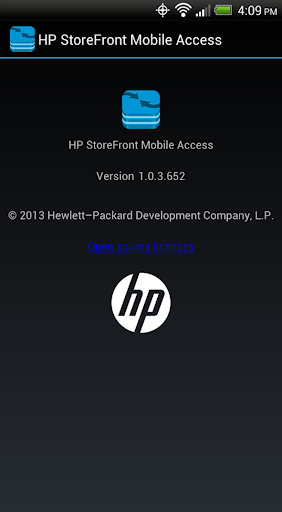 HP StoreFront Mobile Access