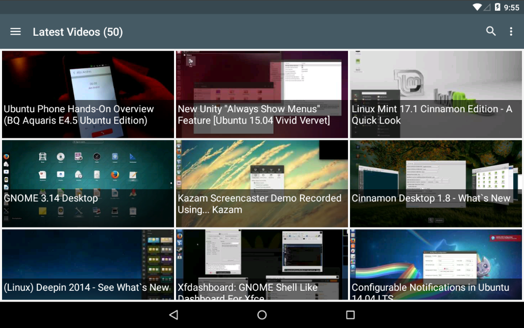 WebUpd8 - Ubuntu / Linux News- screenshot