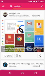 Droidddle - the Dribbble app v2.6.0