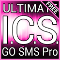Pink ICS GO SMS Theme icon