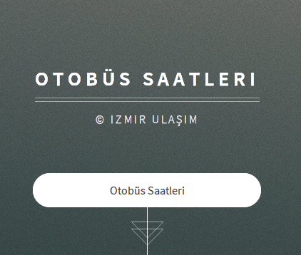 İzmir Otobüs Saatleri