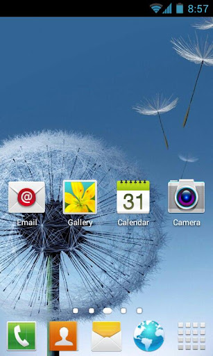 Galaxy S3 Go Launcher Theme