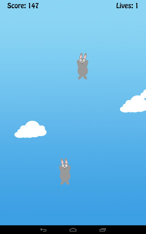 Falling Rabbits- screenshot
