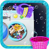 Kids Laundry Wash & Clean Up