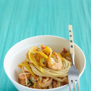 Sesame Shrimp and Noodles.