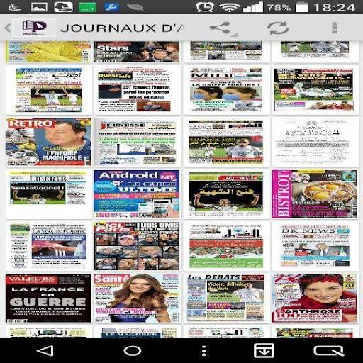 Journaux d'Algérie en PDF