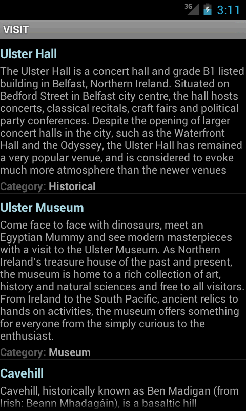 VISIT Belfast - screenshot