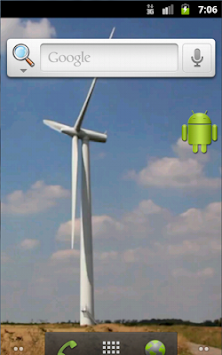 Windmill Live Wallpaper Free By Piddo Apps Poster