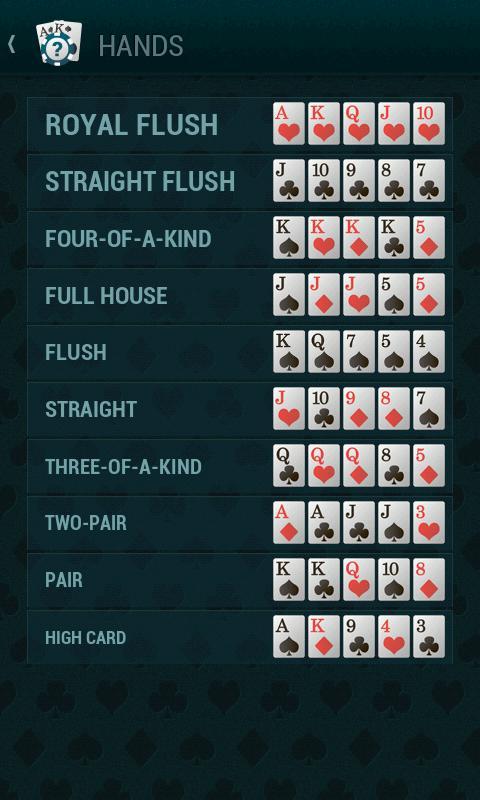 poker liste texas holdem