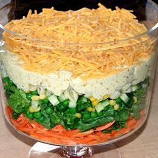 Spicy Seven-Layer Salad