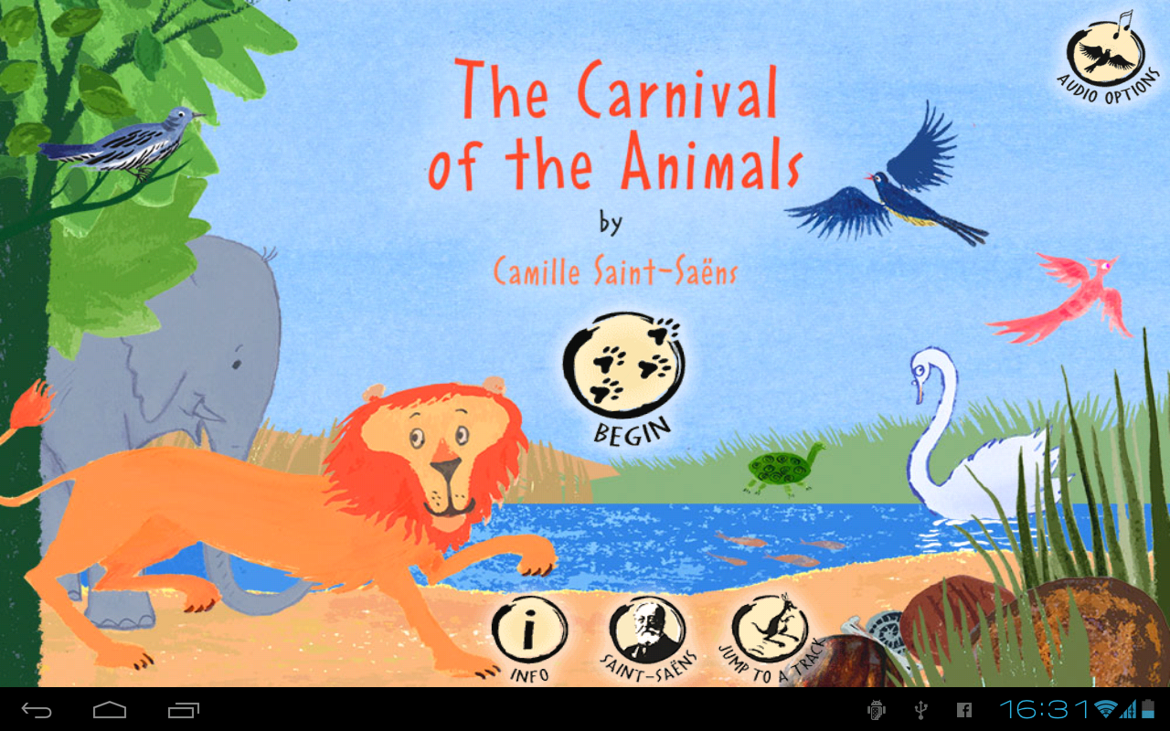 Carnival of the Animals - screenshot