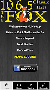 106.5 The Fox Natchitoches, LA - screenshot thumbnail