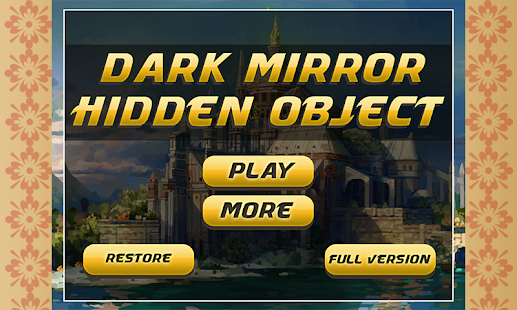 Hidden Objects : Dark Mirror - screenshot thumbnail
