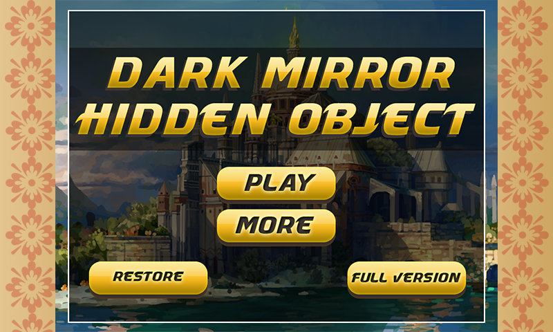 Hidden Objects : Dark Mirror - screenshot