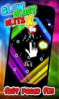 Screenshot of Glow Blast Blitz X Game