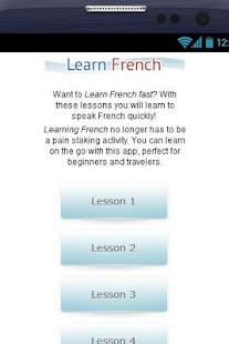 Aprender Francés Gratis - screenshot thumbnail