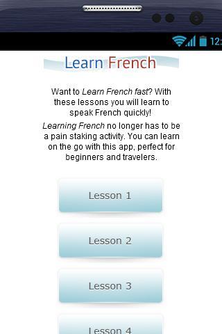 Aprender Francés Gratis - screenshot
