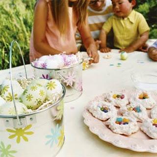 Coconut Nest Cookies.