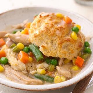Slow-Cooker Upside-Down Chicken Pot Pie.