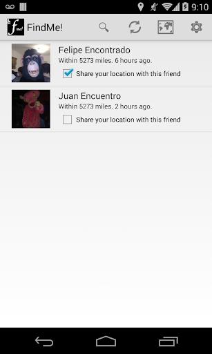 FindMe Find my Friends