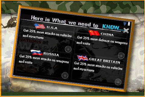 Nations Weapon Attack