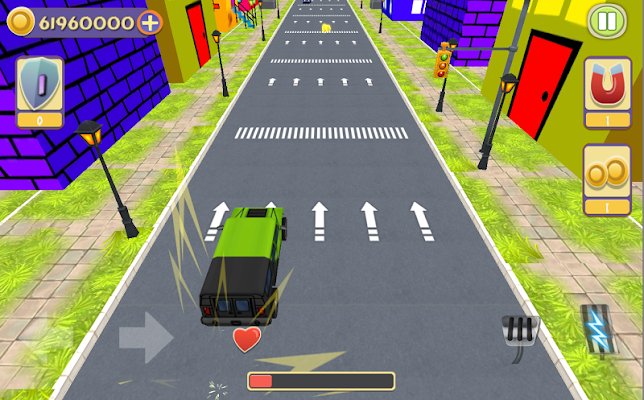 City Cartoon Racer - screenshot