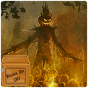 halloween camp fire LWP icon